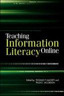 Teaching Information Literacy Online