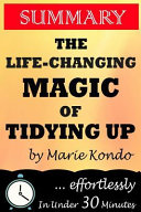 The Life Changing Magic of Tidying Up Summary