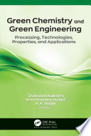 Green Chemistry and Green Engineering Book
