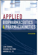 Applied Biopharmaceutics   Pharmacokinetics  Fifth Edition