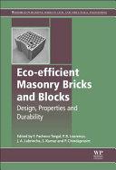 Eco efficient Masonry Bricks and Blocks Book