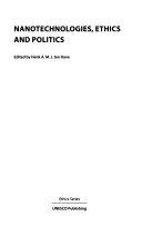 Nanotechnologies  Ethics and Politics