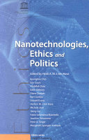 Nanotechnologies Ethics And Politics Book PDF