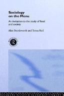 Sociology On The Menu Book PDF