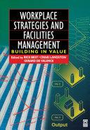 Workplace Strategies and Facilities Management [Pdf/ePub] eBook