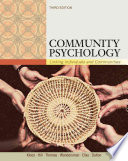 Community Psychology Linking Individuals And Communities