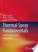 Thermal Spray Fundamentals