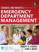 Strauss and Mayer's Emergency Department Management (eBook)