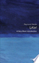 Law  A Very Short Introduction
