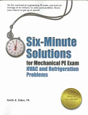 Six-minute Solutions for Mechanical PE Exam