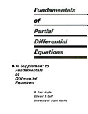Fundamentals of Partial Differential Equations Book