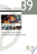 Human Origin Sites And The World Heritage Convention In Asia