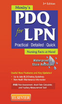 Mosby s PDQ for LPN   E Book