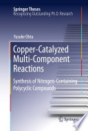 Copper Catalyzed Multi Component Reactions Book