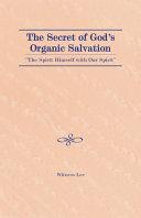 Pdf The Secret of God's Organic Salvation