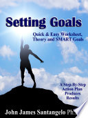 Setting Goals Quick Easy Worksheet Theory And Smart Goals