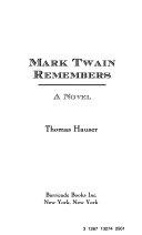 Mark Twain Remembers