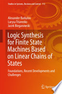 Logic Synthesis for Finite State Machines Based on Linear Chains of States
