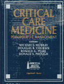 Critical Care Medicine Book PDF