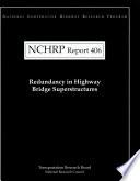 Redundancy in Highway Bridge Superstructures