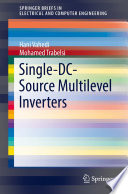 Single DC Source Multilevel Inverters Book