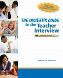 The Insider s Guide to the Teacher Interview