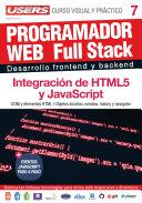 PROGRAMACION WEB Full Stack 7 - Integración de HTML5 y JavaScript