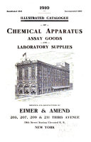 Illustrated Catalogue of Chemical Apparatus  Assay Goods and Laboratory Supplies