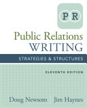 Public Relations Writing: Strategies & Structures