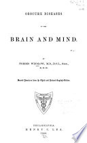 Obscure Diseases of the Brain and Mind
