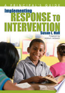 Implementing Response to Intervention Book