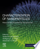 Characterization of Nanoparticles