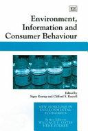 Environment  Information and Consumer Behaviour