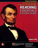 Discovering Our Past  A History of the United States  Reading Essentials and Study Guide  Student Workbook