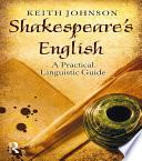 Shakespeare s English