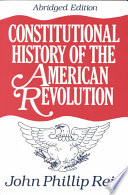 Constitutional History of the American Revolution Book PDF