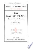Works of Maurus J  kai  The day of wrath  tr  by R  Nisbet Bain