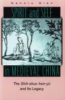 Spirit and Self in Medieval China Pdf/ePub eBook