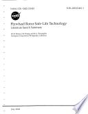 Flywheel Rotor Safe-Life Technology: Literature Search Summary