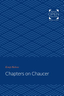 Chapters on Chaucer