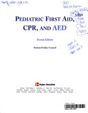 Pediatric First Aid  CPR  and AED Book PDF