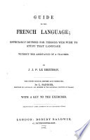 Guide to the French language