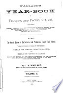 Wallace s Year book of Trotting and Pacing in     Book PDF