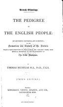 Pedigree of the English People