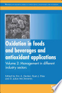 Oxidation In Foods And Beverages And Antioxidant Applications Book PDF