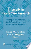 Diversity in Health Care Research Book