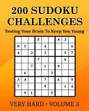 200 Sudoku Challenges   Very Hard   Volume 3