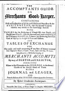 The Accomptants Guide Or Merchants Book Keeper Etc