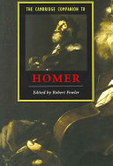 The Cambridge Companion to Homer