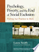 Psychology  Poverty  and the End of Social Exclusion Book